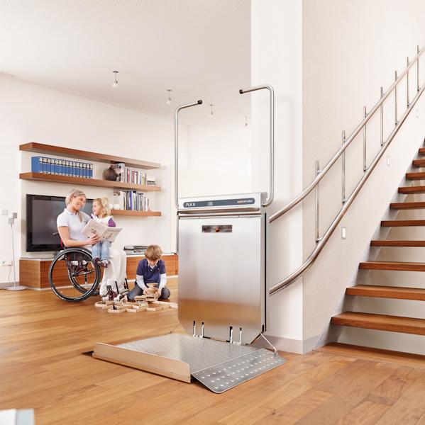 Produkte von LiftTec: Treppenplattformlift