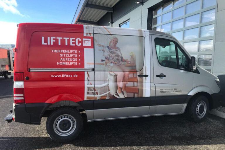 LiftTec Team Service Firmenfahrzeuge